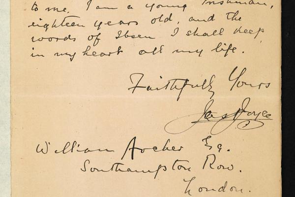 james joyce letter