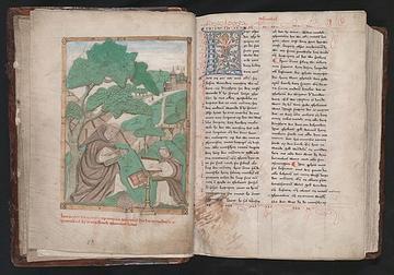 """Miniature from the manuscript """"Werken"""""""